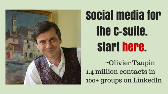 Social media for the C-Suite