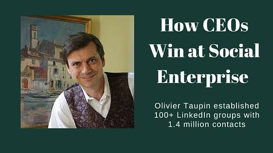 How CEOs Win at Social Enterprise