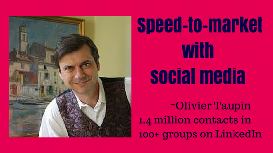 Speed to Market with Olivier Taupin