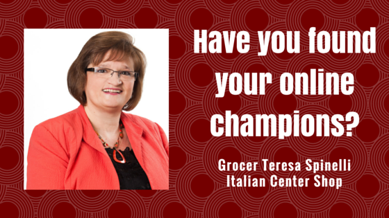 Teresa Spinelli on Have you found your online champions